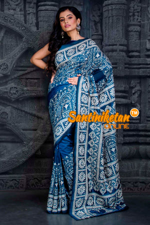 Kantha Stitch Saree SN20202304