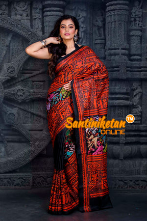 Kantha Stitch Saree SN20202331
