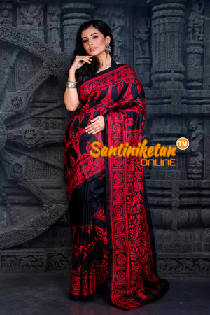 Kantha Stitch Saree SN20202337