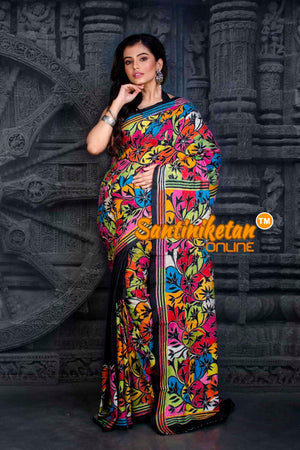 Kantha Stitch Saree SN20202346