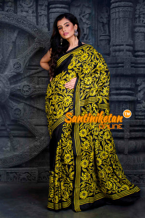 Kantha Stitch Saree SN20202349