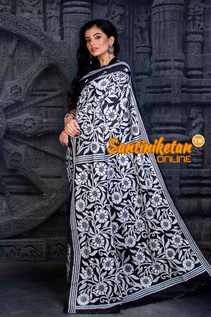 Kantha Stitch Saree SN20202355