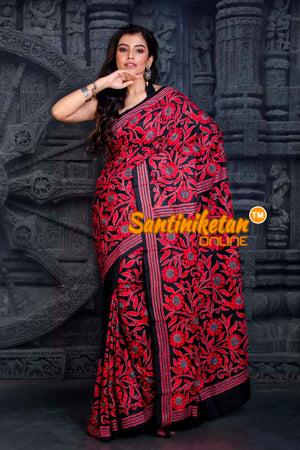 Kantha Stitch Saree SN20202364