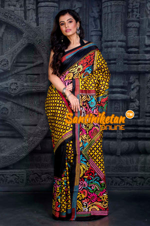 Kantha Stitch Saree SN20202367