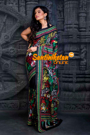 Kantha Stitch Saree SN20202379