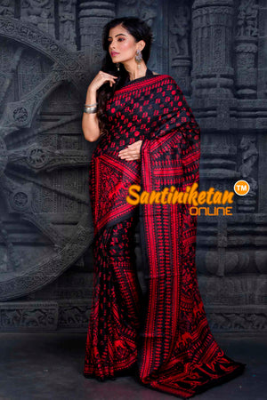 Kantha Stitch Saree SN20202421
