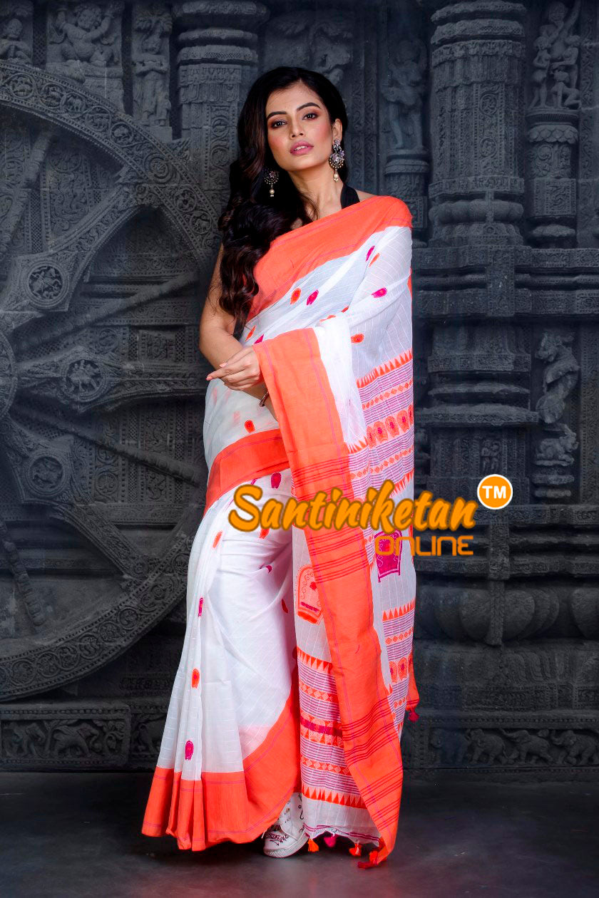 Kotpad Pattern Cotton Saree SN20202477