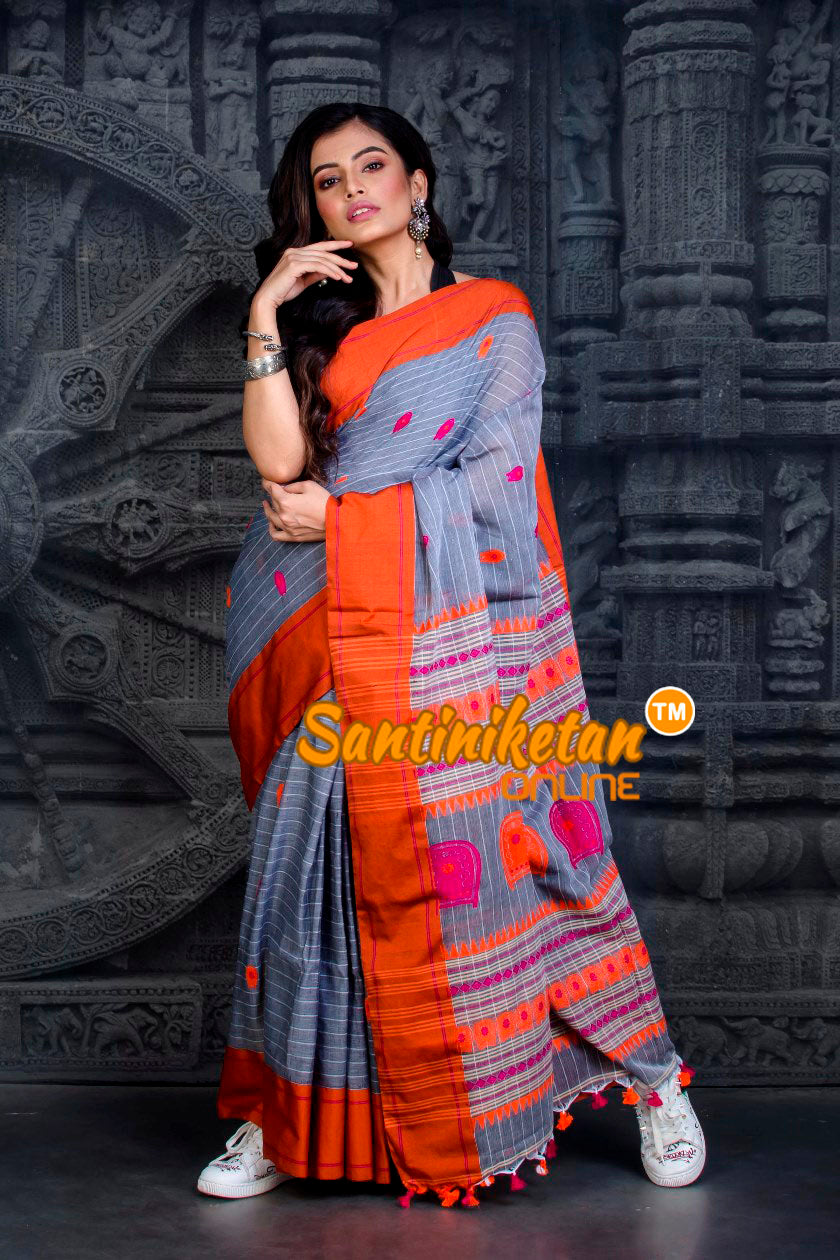 Kotpad Pattern Cotton Saree SN20202483