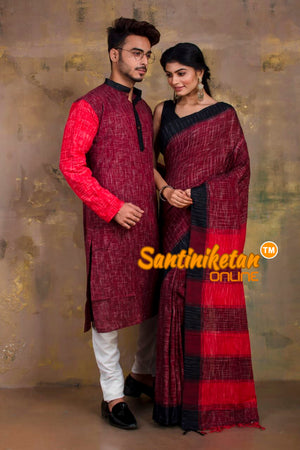 Couple Set - Santiniketan Exclusive SN20201314