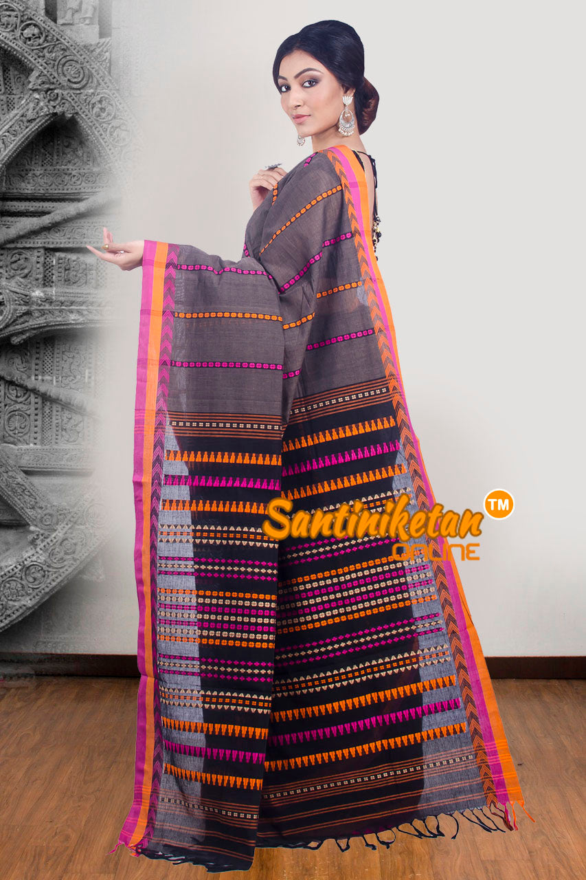 Hand Woven Begampuri Cotton Saree SN20171825