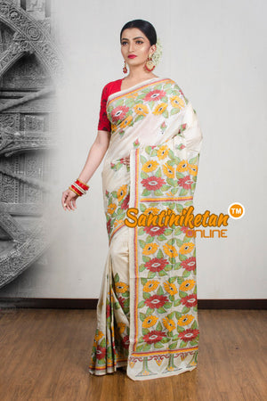 Kantha Stitch Saree SN2020W2