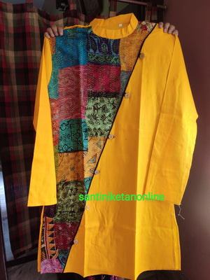 Pure Silk Kantha Patch Kurta SN2020MKW04