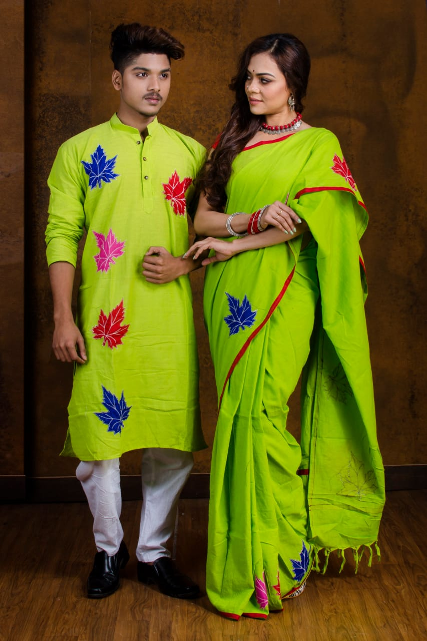 Couple Set (2pc) - shantiniketan Exclusive SN20191309