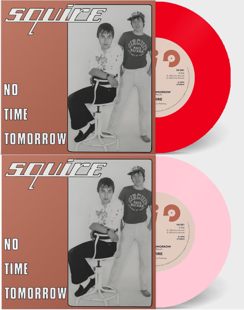 New Squire Record Release! - No Time Tomorrow