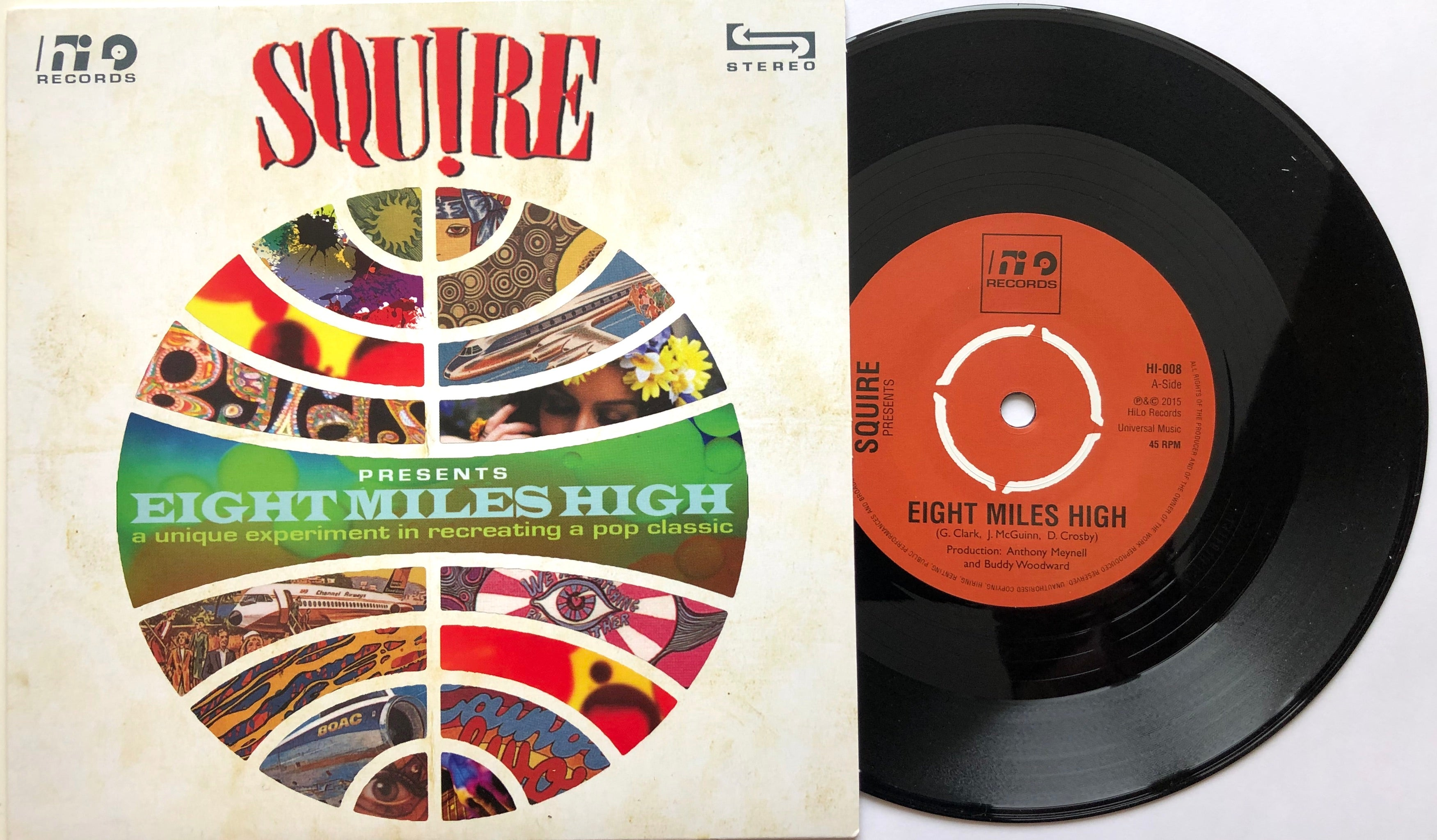 Squire - Eight Miles High - Vinyl 7 inch BLACK