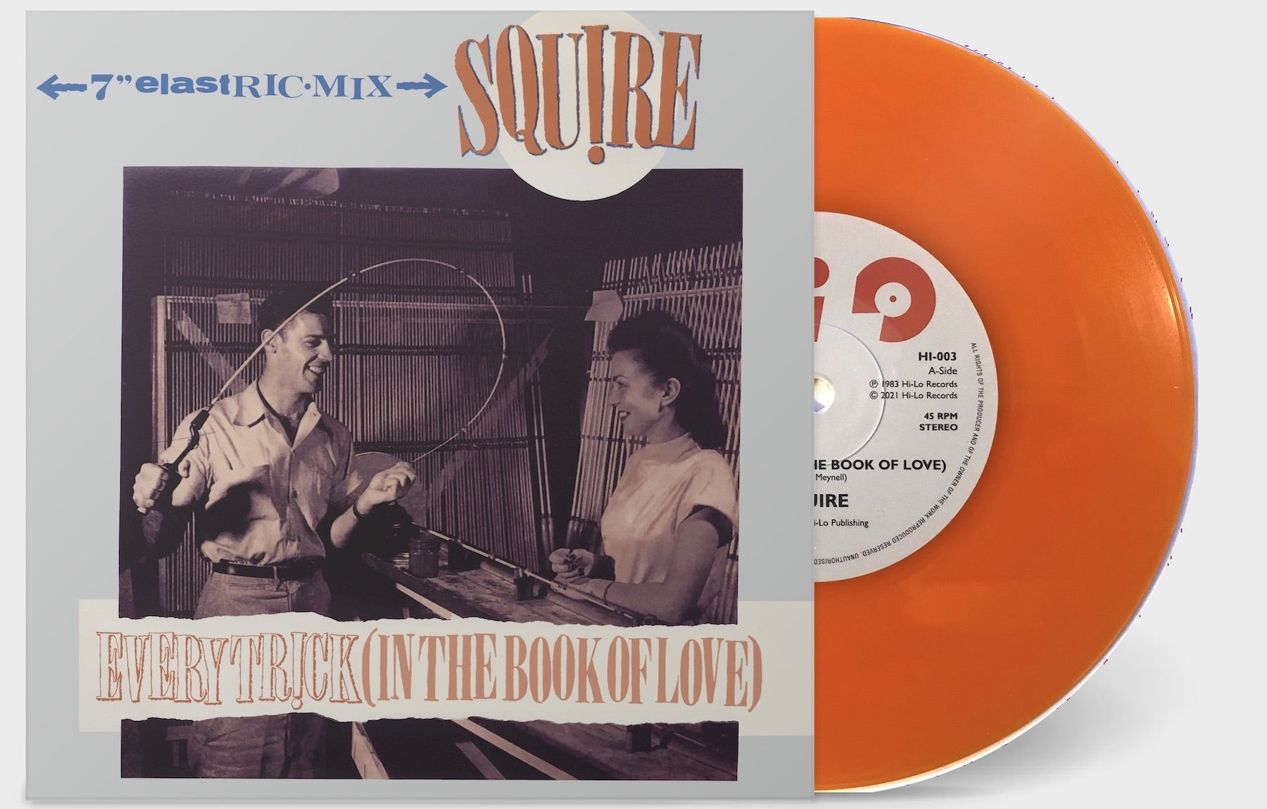 Squire - Every Trick (In The Book Of Love)  - Vinyl 7 inch ORANGE