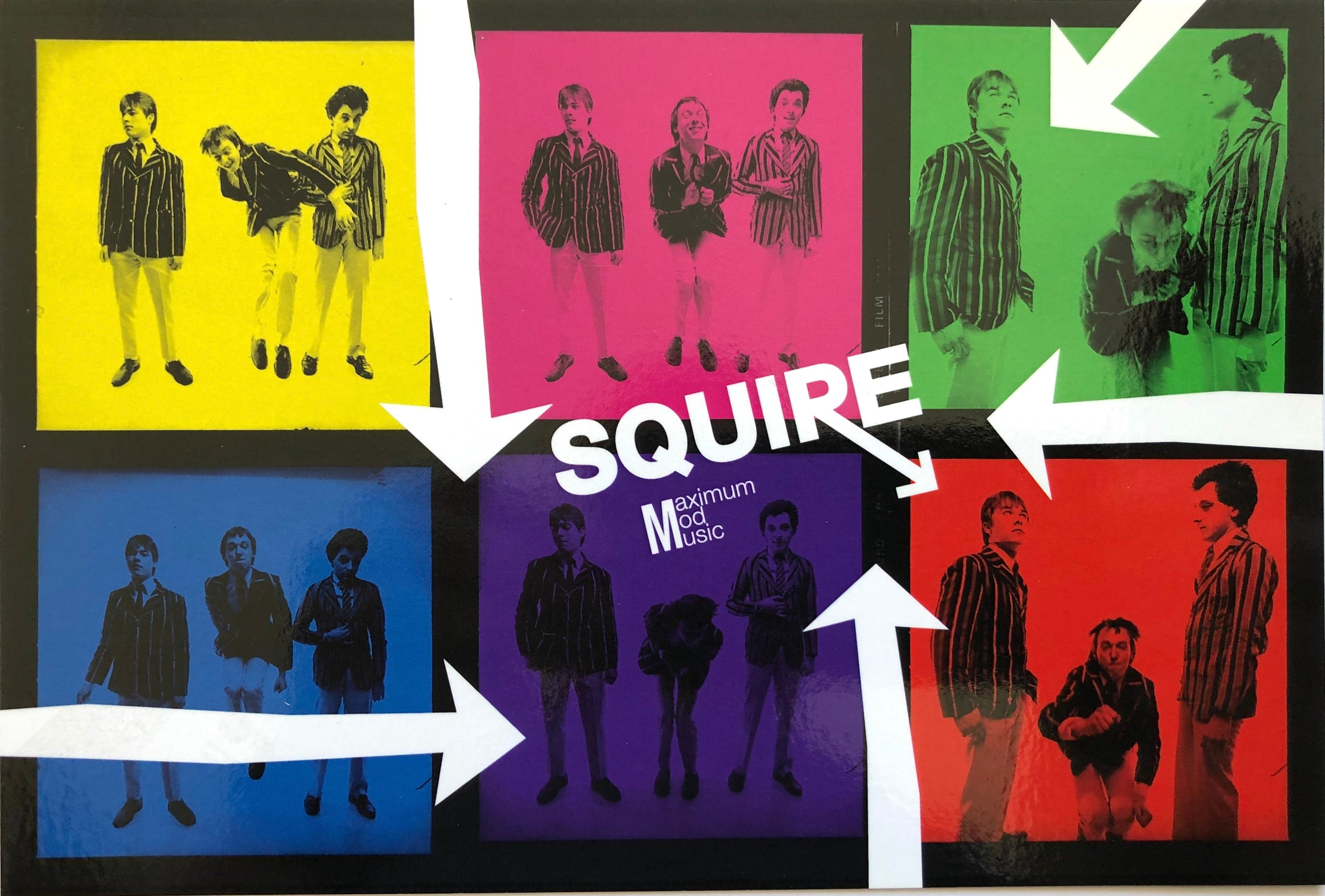 Squire - The Official Squire Fan Club Album - Vinyl LP with special insert