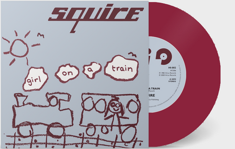 Squire - Girl On A Train  - Vinyl 7 inch MAGENTA