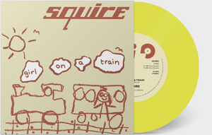 Squire - Girl On A Train  - Vinyl 7 inch YELLOW