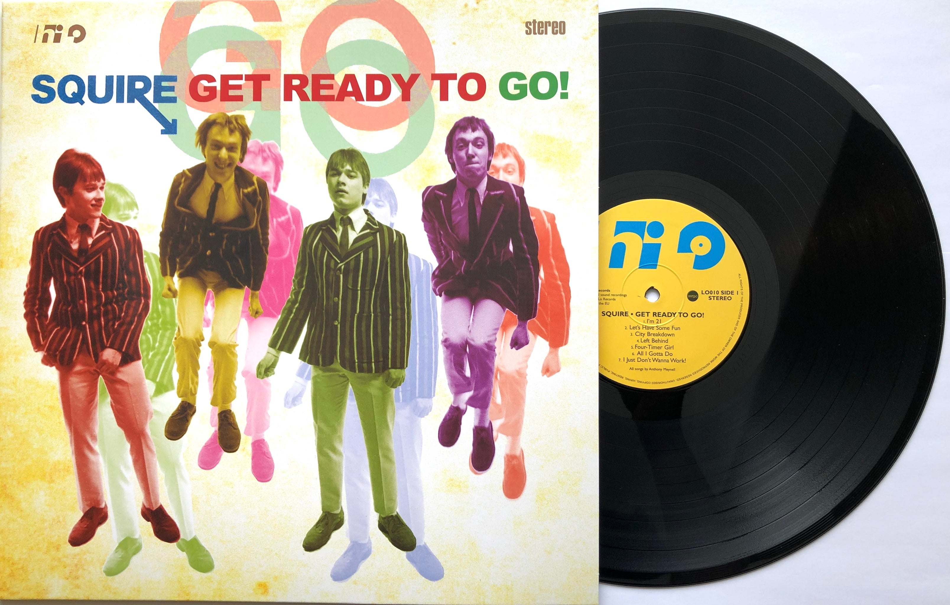 Squire -  Get Ready To Go! Vinyl LP BLACK