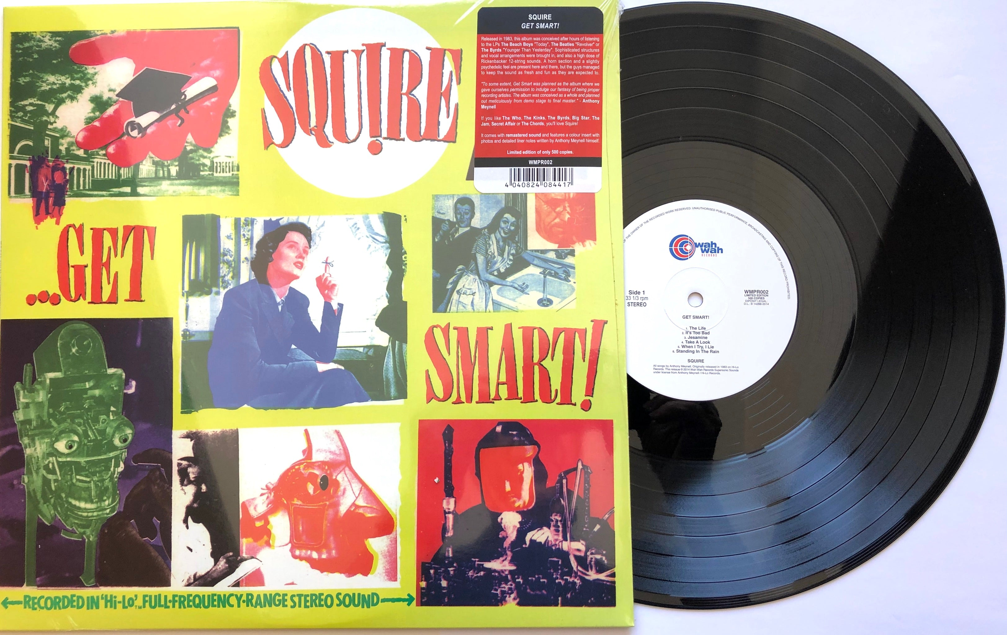 Squire - Get Smart! - Vinyl LP with special insert
