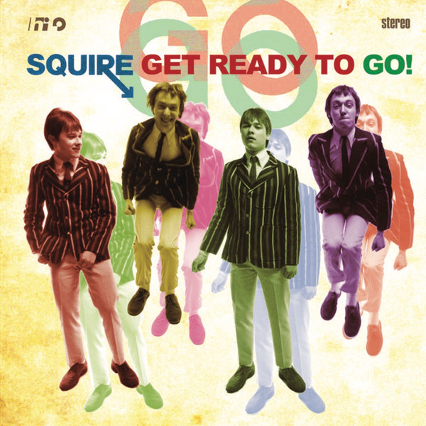 Squire -  Get Ready To Go! - Vinyl LP YELLOW