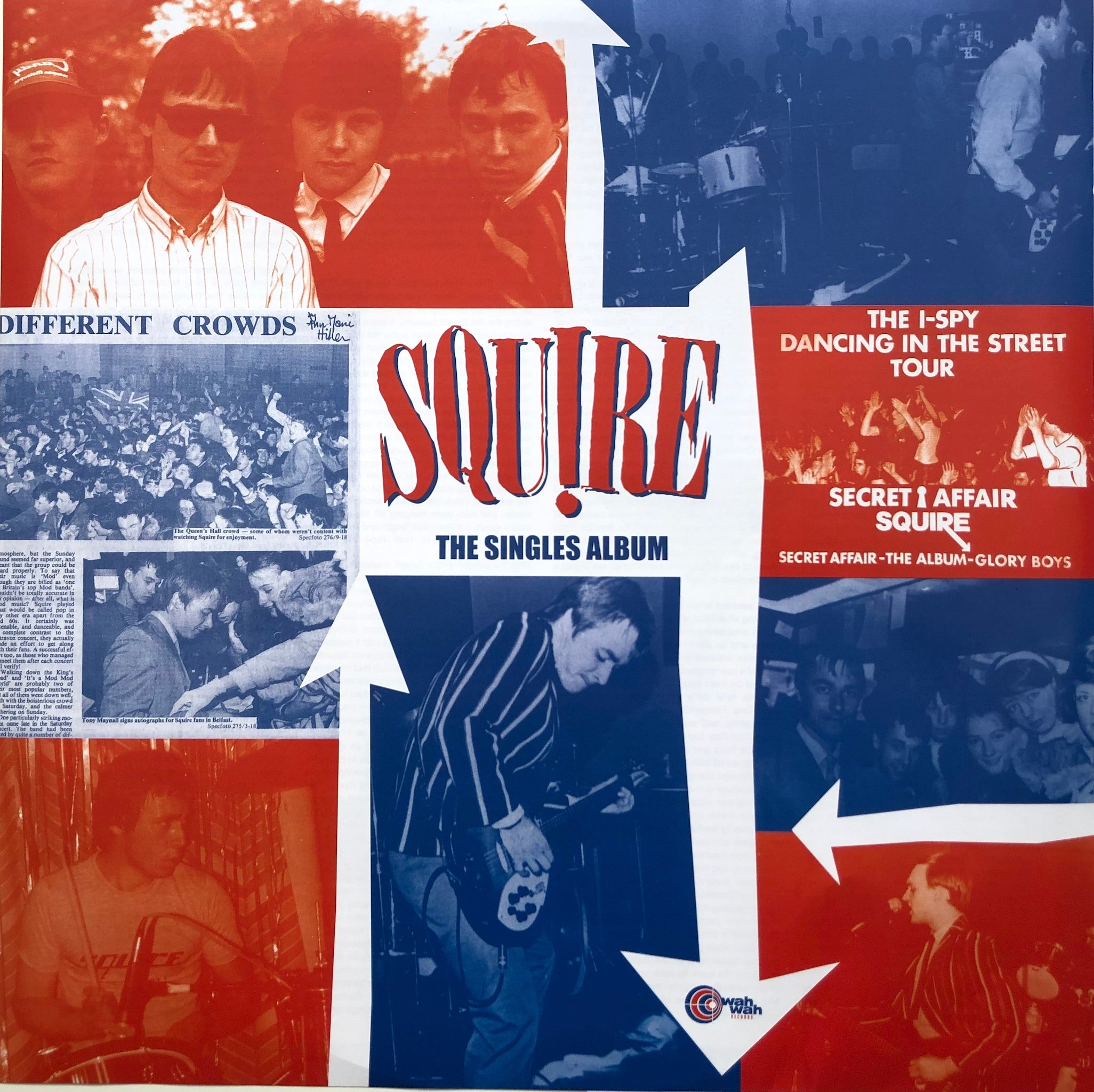 Squire - The Singles Album - Vinyl LP with special insert