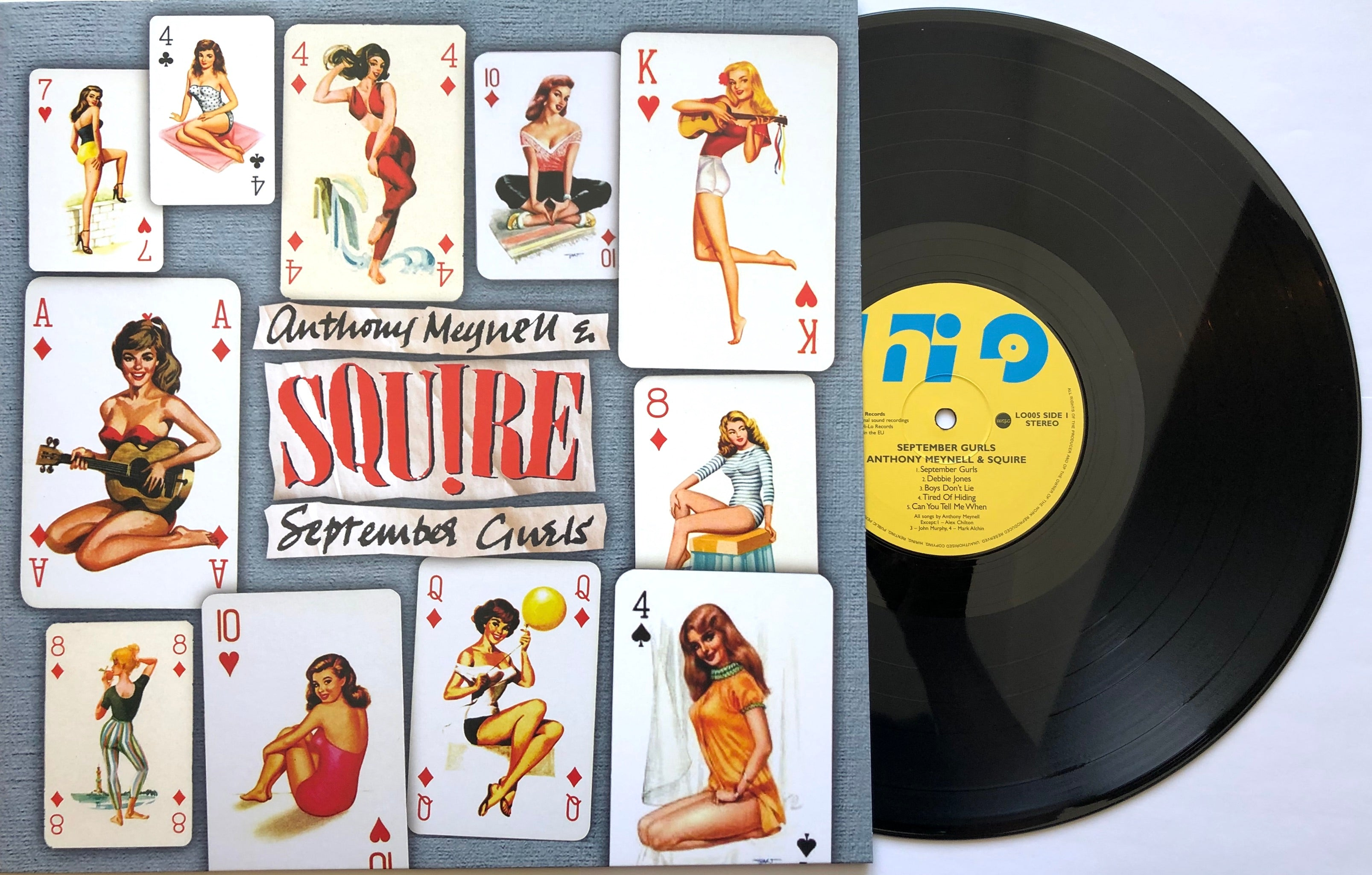 Squire -  September Gurls - Vinyl LP BLACK