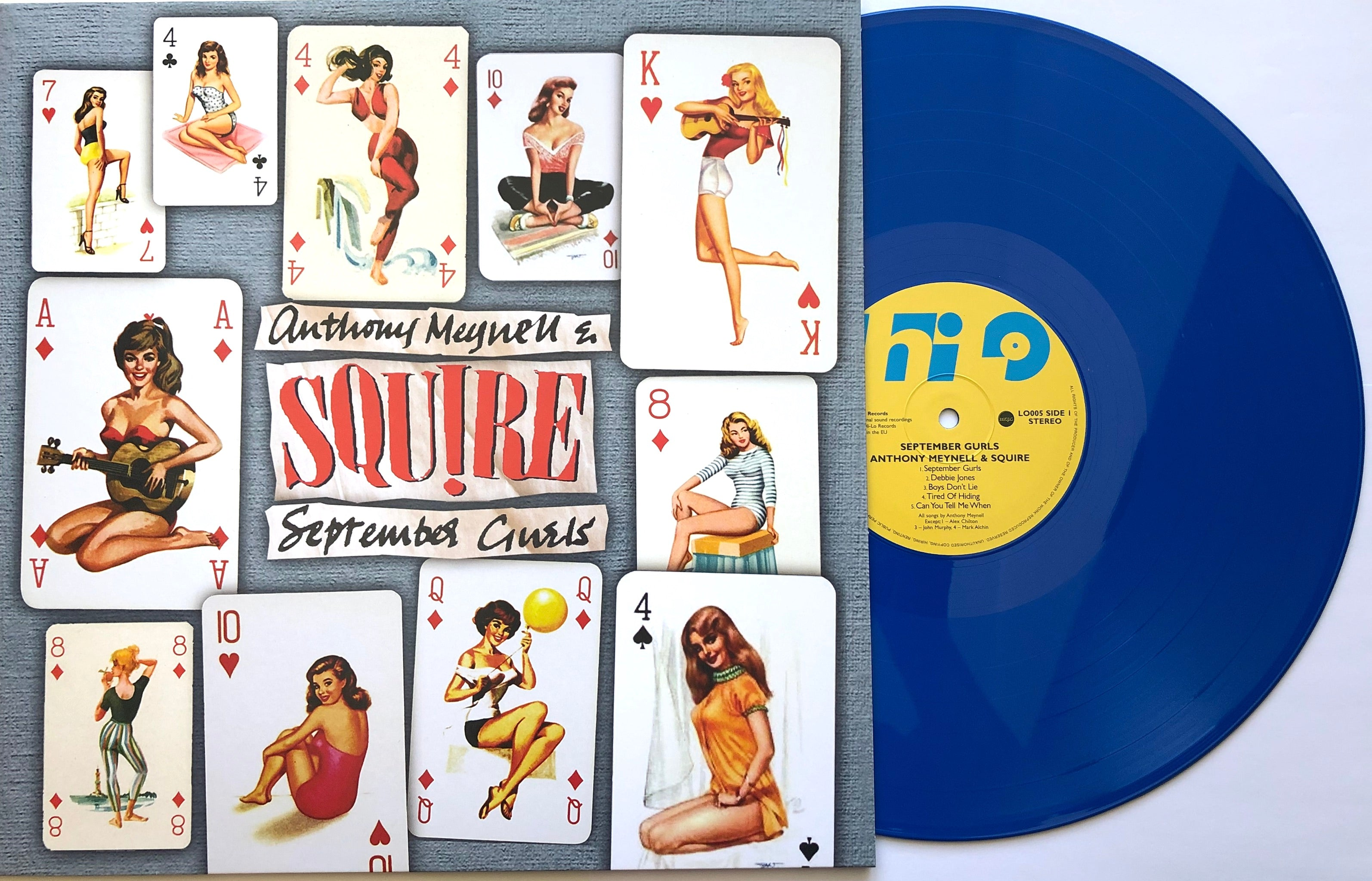 Squire -  September Gurls - Vinyl LP BLUE