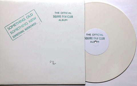 Squire - The Official Squire Fan Club Album - Vinyl WHITE