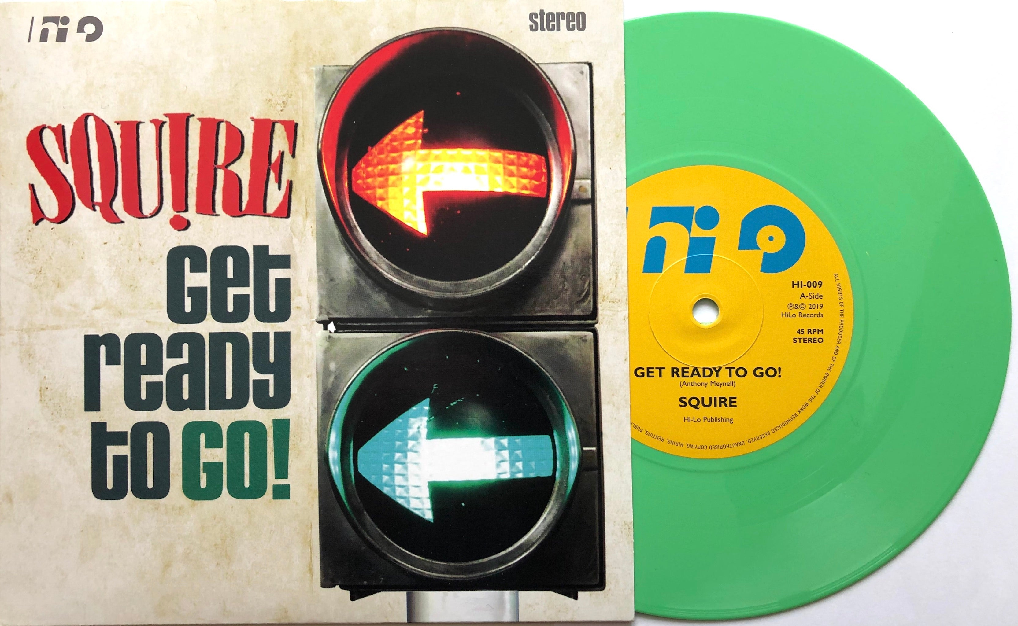 Squire - Get Ready To Go  - Vinyl 7 inch GREEN