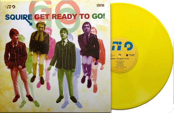 Squire -  Get Ready To Go! Vinyl LP YELLOW