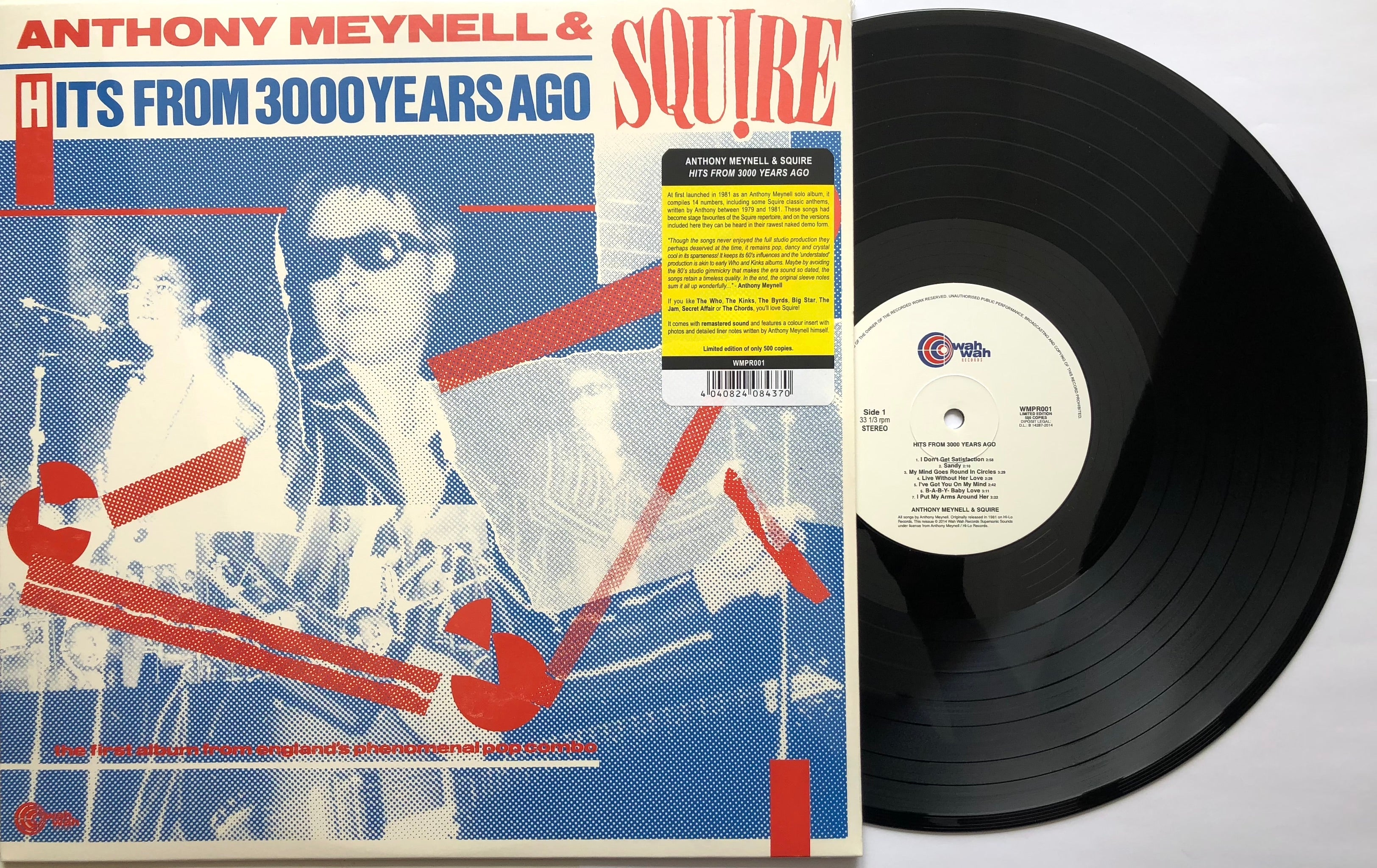 Squire -  Hits From 3000 Years Ago - with special insert