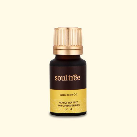 ANTI-ACNE OIL WITH NEROLI, TEA TREE & CINNAMON OILS