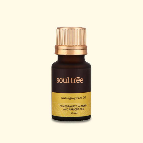 ANTI-AGING FACE OIL WITH POMEGRANATE, ALMOND & APRICOT OILS