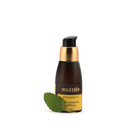 MOISTURISING GEL - TULSI & SANDALWOOD 40ml