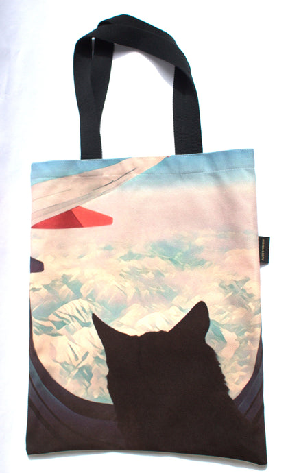 Adventure Cat La Pew Tote Bag