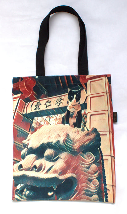 Dragon Master La Pew Tote Bag