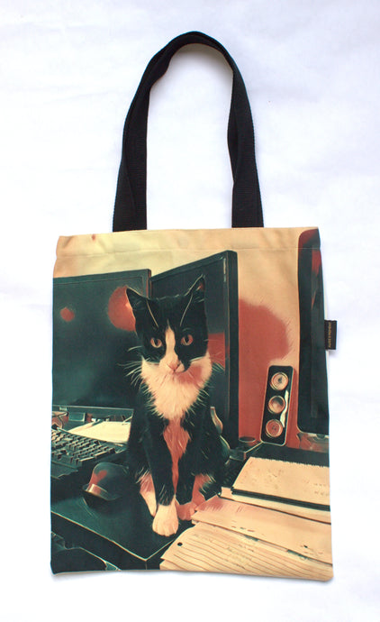 TechnoCat La Pew Tote Bag