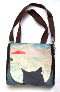 Adventure Cat La Pew Shoulder Bag