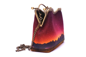 Snake River Valley Velvet Handbag