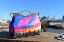 Load image into Gallery viewer, Dusk at Lassen Velvet Handbag