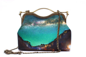 Yosemite Valley Velvet Handbag