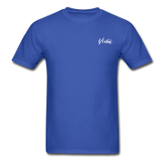 Unisex Chef Vivoni White Logo T-Shirt - royal blue