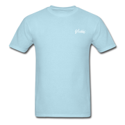 Unisex Chef Vivoni White Logo T-Shirt - powder blue