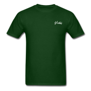 Unisex Chef Vivoni White Logo T-Shirt - forest green