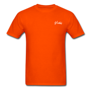 Unisex Chef Vivoni White Logo T-Shirt - orange