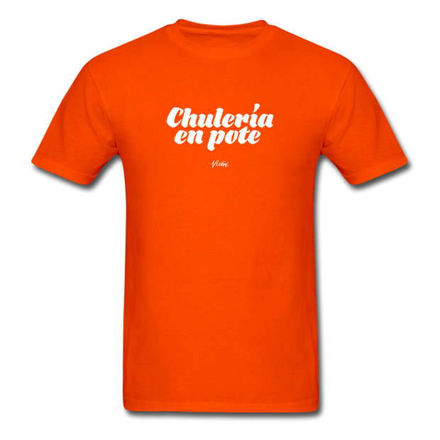 Unisex Chulería en Pote T-Shirt - orange