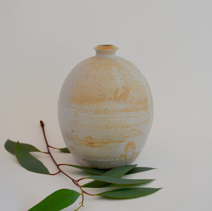 Sake vase - oval large