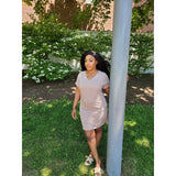 Not So Basic Mocha Mini Dress